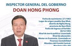 Doan Hong Phong, inspector general del Gobierno