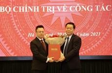 Le Quoc Minh asume el cargo de editor jefe del periódico Nhan Dan