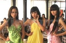 Bellas vietnamitas a torneo continental de supermodelo