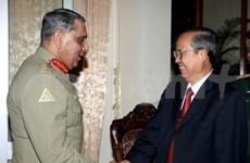 Concluye delegación militar pakistaní visita
