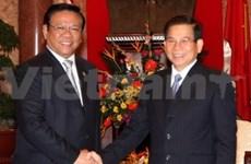 Presidente con el titular indonesio de Cámara Baja