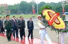 Tributo a Ho Chi Minh en Día de la Independencia
