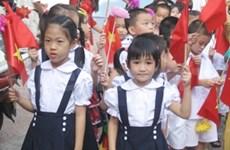 Dirigente partidista con nuevo curso escolar