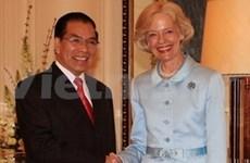 Dirigente partidista vietnamita en Australia