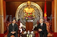 Viet Nam y China estrechan cooperación legislativa