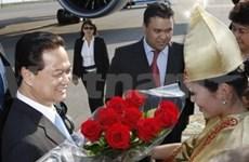 En Kazajstán premier vietnamita