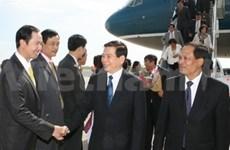 En Nueva York presidente de Viet Nam