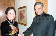 Culmina vicepresidenta vietnamita visita a India