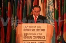 Viet Nam en Asamblea General de UNESCO
