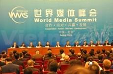 Inauguran cumbre mundial de medios de difusión