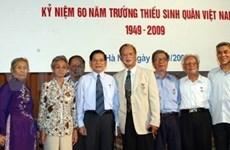 Presidente vietnamita destaca méritos de cadetes