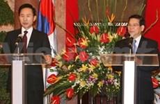 Culmina presidente surcoreano estancia en Viet Nam