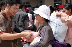 Nuevas donaciones a víctimas del tifón Ketsana