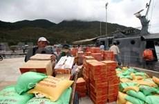 Dedica Gobierno recursos a localidades víctimas de tifón
