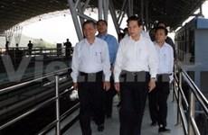 Presidente visita Grupos económicos nacionales