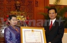Visita Viet Nam viceprimer ministra camboyana