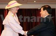 Familia real danesa prosigue visita en Viet Nam