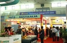 Exposición de tecnología y equipos eléctricos