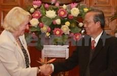 Recibe vicepremier a delegación UNAIDS