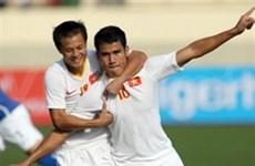 Otra victoria vietnamita en fútbol regional