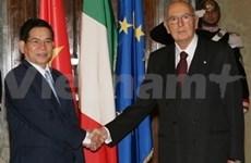 Viet Nam-Italia: conversaciones cumbres