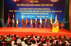 ASEAN por desarrollo educacional sostenible