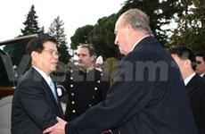 Presidente vietnamita inicia visita a España