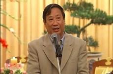 Vicepremier vietnamita con prensa nacional