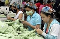 Industria textil vietnamita avanza pese a crisis