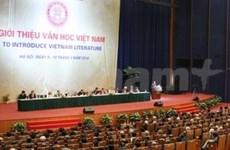 Promueven literatura vietnamita en el exterior