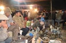 El mercado Vieng de Viet Nam