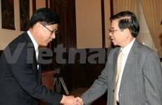 Recibe presidente vietnamita a empresario sudcoreano