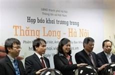 Inauguran portal digital sobre Thang Long-Ha Noi