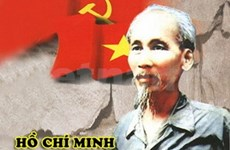 Exposición sobre presidente Ho Chi Minh en Laos