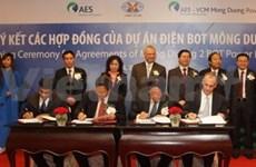 AES y TKV construyen gran obra termoeléctrica