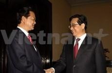 Delegación parlamentaria vietnamita visita China