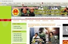 Inauguran sitio web contra pobreza en Viet Nam