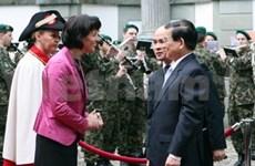 Viet Nam- Suiza: Conversaciones cumbre