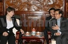 Presidente vietnamita recibe a dirigente ONU