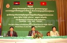 Países indochinos cooperan en auditoría