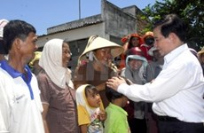 Presidente vietnamita en provincia sureña
