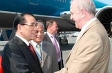 Prosigue dirigente vietnamita visita en Rusia