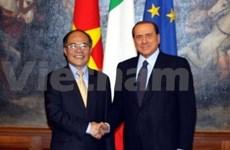 Viet Nam e Italia fortalecen nexos