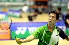 Gana raquestista vietnamita torneo de bádminton