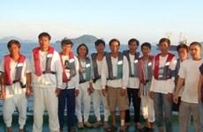 Rescatados pescadores vietnamitas tras tifón Conson