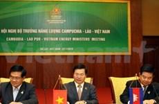 Viet Nam- Laos - Cambodia: Cooperación energética