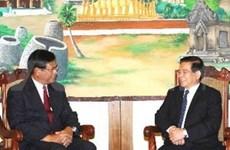 Viet Nam y Laos profundizan relaciones
