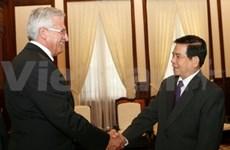 Presidente vietnamita recibe a auditor eslovaco