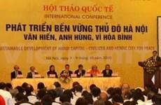 Seminario sobre desarrollo sostenible de Ha Noi