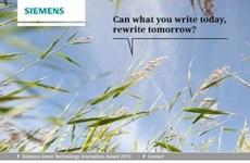 VietnamPlus y Siemens presentan premio de tecnología